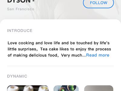 Cate  APP  🍰 cate food sketch app list card design ui