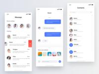 Social  App Concept