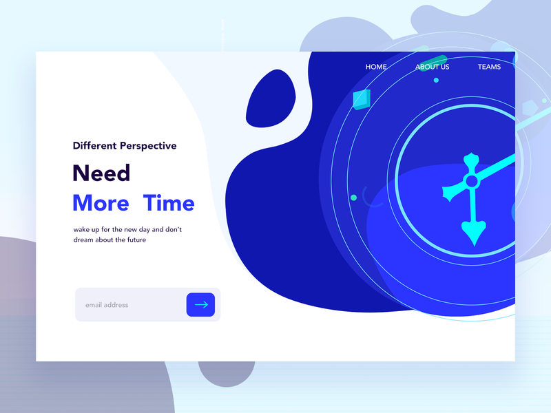 Time type ux mobile minimal website animation typography logo vector icon lettering branding design illustration ui