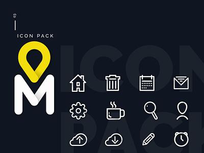 Icon Pack (update) xd ui metro icons icon design adobexd