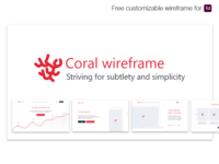 Coral wireframe