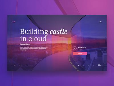 Arc. concept web design adobe xd xd ux homepage adobe adobexd uidesign design ui