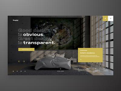 Francis - design studio home design home studio concept web design homepage adobe xd xd ux adobe adobexd uidesign design ui