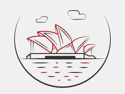 Sydney City Icon