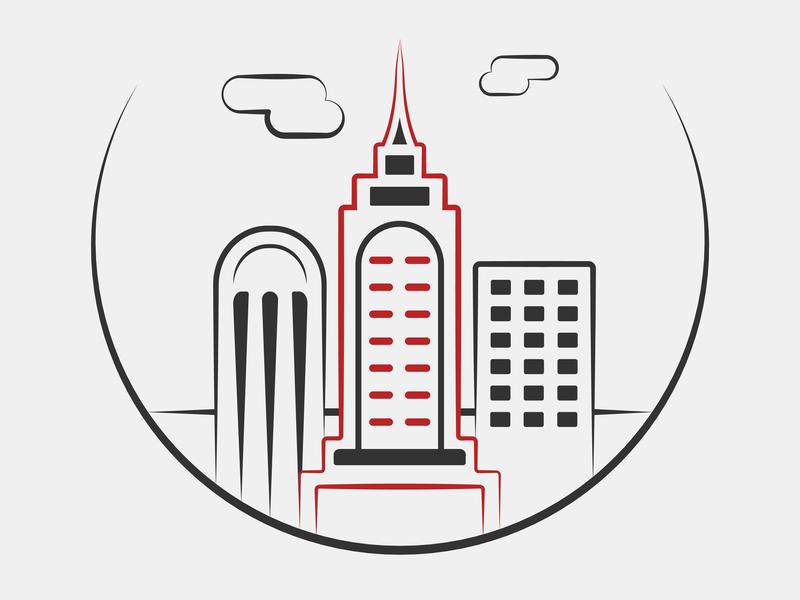 New York City Icon identity branding design pictogram iconography icon set illustration icon design icon vector