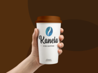 New logo Kanela - Ice coffee to go