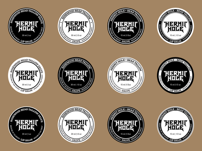 Hermit Hole - Label Designs