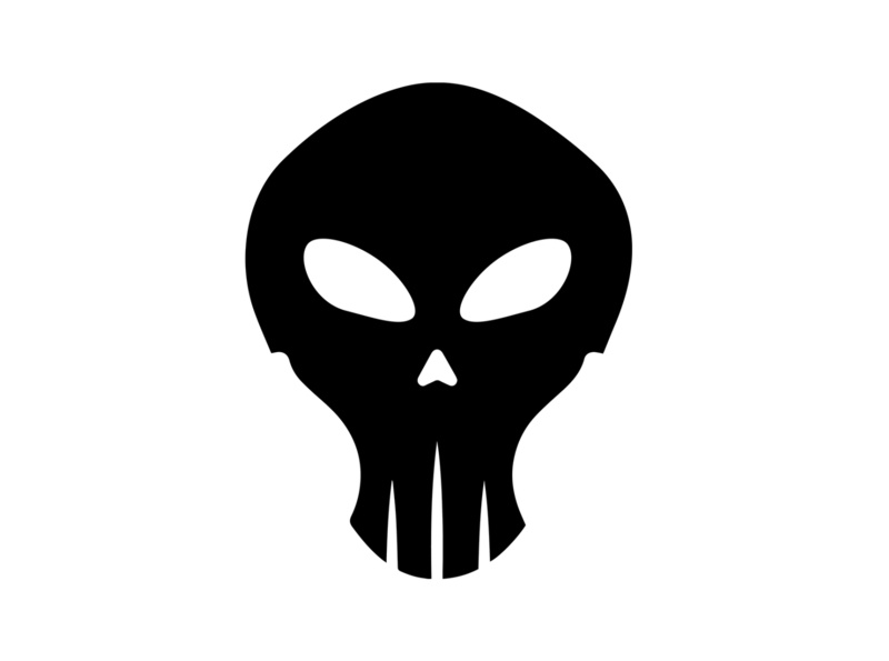 Skull logo logo