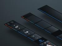 Tesla Edge UI Concept