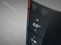 Tesla Edge UI Concept Perspective