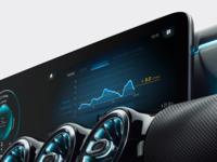 Consumption Screen Mercedes-Benz User Experience