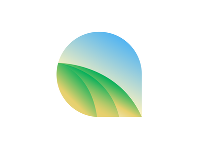 Farm logo sketch logotype farm fresh farm software tree leaf farm to table green blue sun letter a nature green field farm logo branding logo