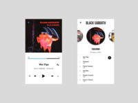 Daily UI - #9 Music Player