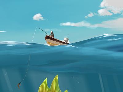 Fishing Boat bait monster nat geo ocean fishing boat
