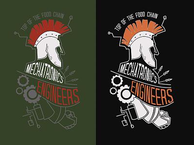 Mechatronics Engineers mechatronics mechanics engineering engineer typography info graphics digital art logo design