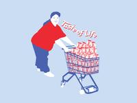 Illustration - Taste of Life
