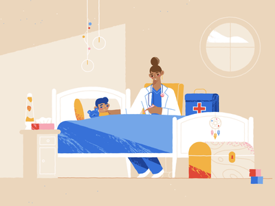 Top notch services bedroom doctor dog car colors character animation adobe illustrator 2d after effects texture explainer videos storyboard explainer video character design 2d animation animation illustration