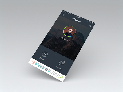 Prevent Mobile prevent mobile color information icons wip product ui ux design