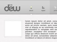 Website Redesign Header