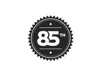 85th Badge