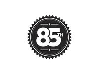 85th Badge Rebound