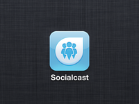 Socialcast iOS icon 2