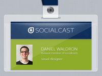 Socialcast Badge