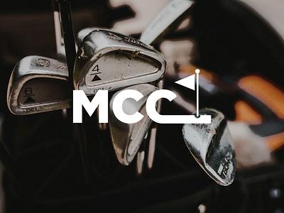 LOGO DESIGN // Manchester Country Club // PT. 2 golf ball country club gold logo golf course golfing golf typography logo designer logodesign logo design design branding logo illustration