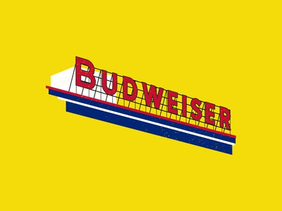 QUARANTINE DIARIES // PT. 12 illustration art illustrations sign buddy beer logo stl st louis stlouis beer budweiser vector typography logo illustration