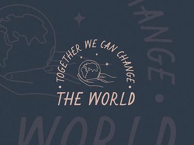 Together Lockup together typography logo design logo branding design illustration logodesign