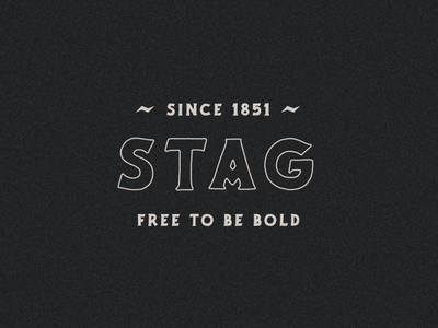 STAG BEER logo designer typography logodesign logo design logo branding design illustration beer label beer logo beer branding stag beer stag
