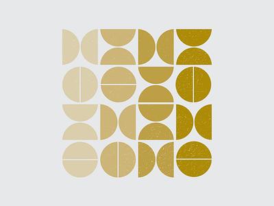 WEEKLY WARMUP // #60 grain vector branding modern design pattern art pattern modernism modern circles design illustration bauhaus100 bauhaus