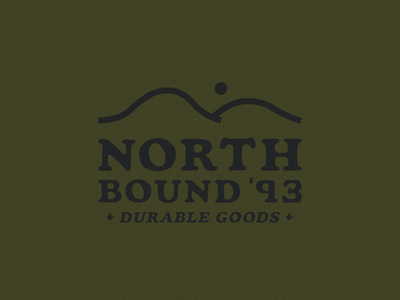 North Bound '93 apparel design apparel logo california logo designs logo designer typography logodesign logo design logo branding design illustration