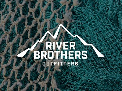 RBO FALL LINE hunting logo hunting fishing logo fishing fish logodesign logo design branding design illustration logo