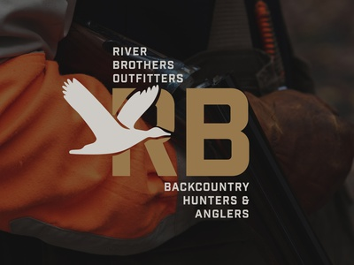 RBO X BHA COLLAB illustration branding vector fish outdoor logo outdoors duck hunting duck typography logodesign logo design design logo fishing hunting