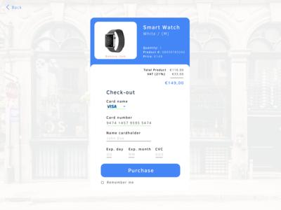 Checkout page Smart Watch ecommerce watch smart checkout page checkout