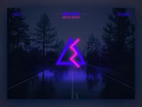Neon Brand Website