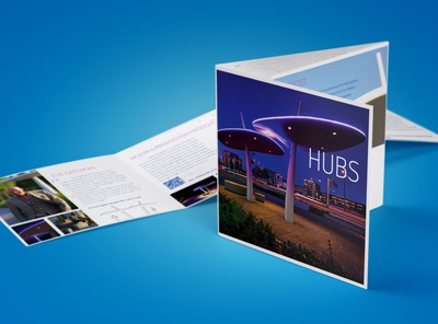HUBS brochure design