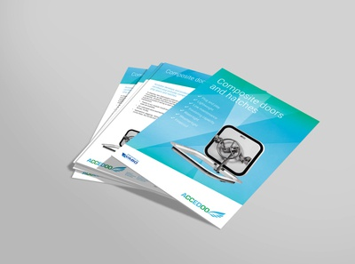 Accedoo leaflet design