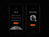 Daily UI Challenge 001: Sign Up