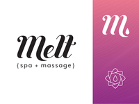 Melt Spa & Massage Branding