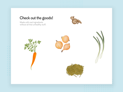 Hover Animation - Common Foods