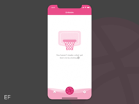 Dribbble - Empty State