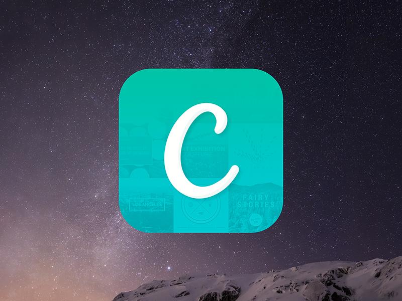 Canva iPad App Icon canva ipad app icon ios ios8