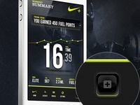Nike Plus Workout Summary