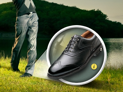 Golf Shoe Feature