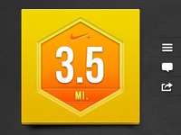 3.5 Miles with Nike+