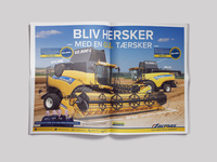 Pre-owned ad for harvesters