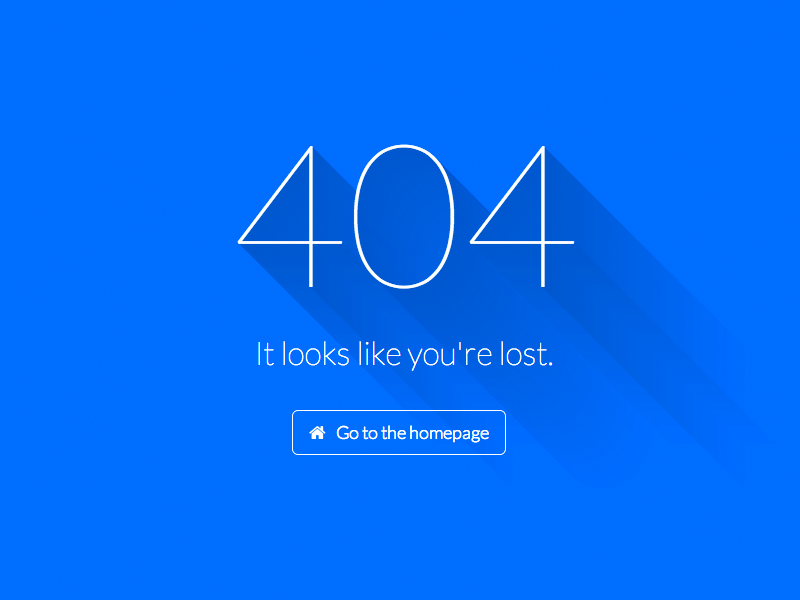 Se7en 404 Page by Andrew Reifman on Dribbble