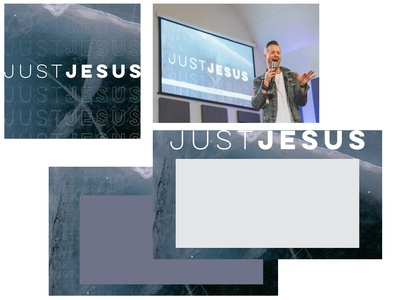 Just Jesus Series Collateral